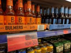 Bulmers ciders, blood orange and blueberry now only 30p @ B&M Blackpool