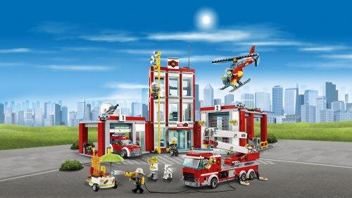LEGO City Fire Station 60110 - £43.98 at Amazon