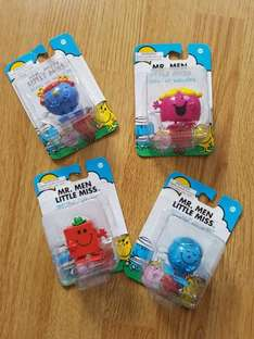 Mr. Men and Little Miss wind up walkies £1 each @ poundland
