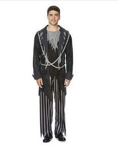 Fancy Dress 'Undead Pirate' Costume - XL size only - £4 at Tesco.com - Free c&c