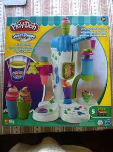 Play Doh Sweet Shoppe Perfect Twist Ice Cream Set £12.99 @ Home Bargains