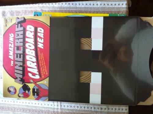 Minecraft Cardboard Head... hours of fun £3.99 @ Home Bargains