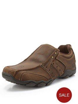Amazon -  Skechers Men's Diameter - Heisman Shoes - Brown only £25