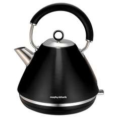 Morphy Richards Pyramid Kettle, 1.5L - Black Now £12 was £49.50 @ Tesco Direct (Free C&C)