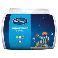 Silentnight Superwash 10.5 Tog Duvet King Size 225CM X2 20CM was £15 now £7.50 @ morrisons (Instore)