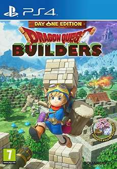 Dragon Quest Builders Day One Edition PS4 only £31.99 for Prime members @ Amazon