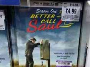 Better Call Saul Season 1 DVD & Digital Copy £4.99 @ HMV Online & Instore
