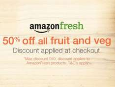 £60 worth of fruit and veg for £10 London only @ Amazon Fresh
