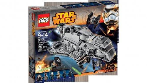 Lego Star Wars Imperial Assault Carrier 40% off 75106 free delivery £60 @ Jarrolds