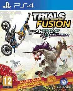 Trials Fusion - The Awesome Max Edition - PS4 - £14.99 (Prime) @ Amazon