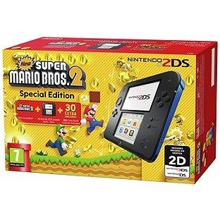 Nintendo 2DS Console with Super Mario Bros 2 Game Bundle £79.99 @ Argos