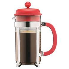 Bodum 8-Cup Cafetiere (Red) - £7.50 (Free Click 'n Collect) @ Tesco Direct