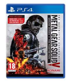 Metal Gear Solid V: The Definitive Experience (PS4/XO) £23  for Prime Members / £25 (non prime) @ AMAZON