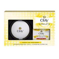 Olay Complete & Mirror Gift Pack £1.00 + free gift when buying two (online and instore) @ Superdrug