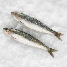 Tesco fish counter Cornish fresh sardines £2.25 a kilo now