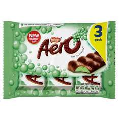 [Confectionery Discounts] Nestle Aero Peppermint 3 Bar pack, Haribo Chamallows (220g), Haribo Jelly Babies (200g) 50p + more @ Tesco Instore