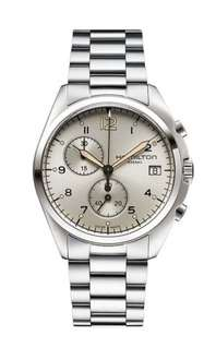 Hamilton Khaki Men's Quartz Watch with Beige Dial Chronograph £220.68 Sold by hyperform and Fulfilled by Amazon