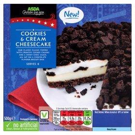 Cookies and Cream 500g Cheesecake £1 @ Asda Instore