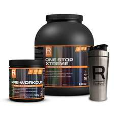Reflex One Stop Xtreme + Pre-Workout + Stainless Steel Shaker - OCTOBER OFFER
