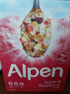 Alpen Apple & Raspberry Muesli 560g £1 @ Poundland (Instore)