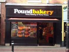 email from Pound Bakery - spend 50p or more on anything and get a free spooky gingerbread man!