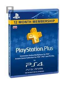 cheap playstation plus! £24.99 (£39.99 each - 12 months) @ very (new customers)