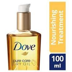 Dove Pure Care Nourishing Treatment Dry Oil 100ml £9.99 each or 2 for £6 @ Superdrug