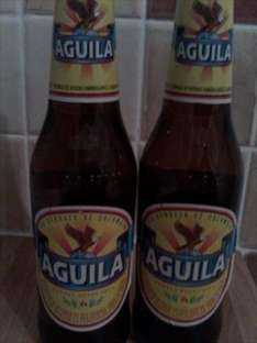 AGUILA  Lager 4% 330ml bottle 59p at B&M