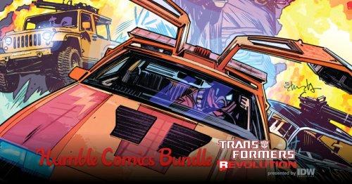 Humble Comics Bundle - IDW Transformers Revolution 78p