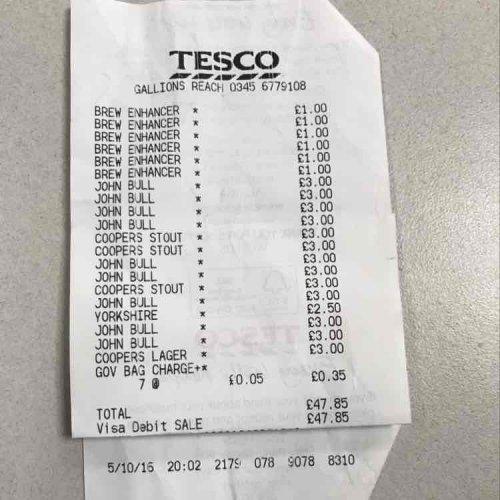 HOMEBREW - Tesco Price Crash beer kits £3 @ Tesco Gallions Reach