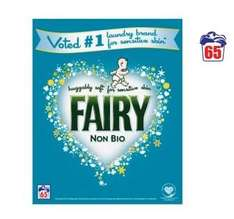 Fairy Washing Powder Non Bio 65 Washes (4.2KG) - Now £10, down from £13 @ ASDA