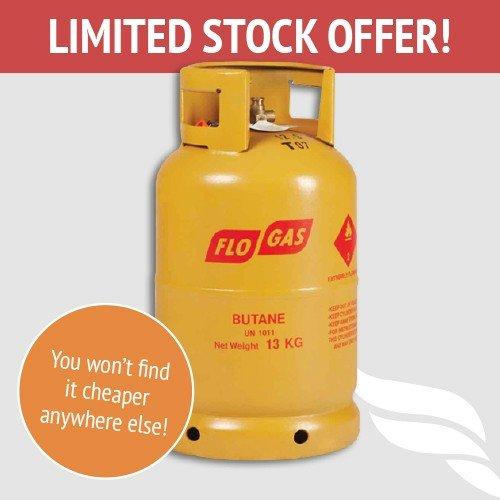 13kg FloGas Butane Gas Delivered £19.99 @ GasDeal