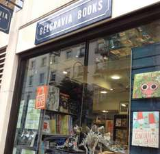 50% off all books at belgravia books, ebury street, london - TODAY ONLY - instore only