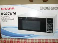 Sharp Compact Microwave Oven, £16.00 Tesco Instore Haverfordwest