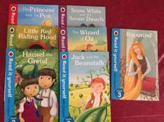 Ladybird read it yourself kids reading books at Poundland for £1