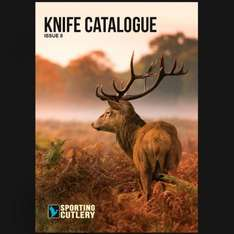 Sporting Cutlery Knife Catalogue Issue 8 - free @ sportingcutlery.co.uk