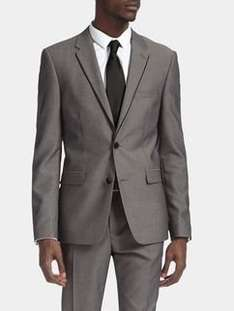 BURTON 2 PIECE SLIM FIT GREY TIPPED SUIT [Ltd sizes] £13.95 Delivered @ Burton