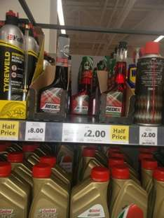 Redex petrol injection cleaner Tesco Half price £2
