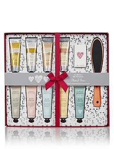 M&S Beauty Deal of the Week - La Maison Hand & Foot Treats Collection was £35 now £15 C+C (NI Cocoa Butter Bumper Beauty Giftset / Cranberry/ Royal Jelly Half Price)