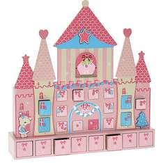 Pink Princess Wooden Castle Advent Calendar (was £34.99) Now £16.99 at TK Maxx