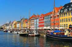 Return Flights London Luton to Copenhagen with Ryanair £8.98 @ Fly.com !!!