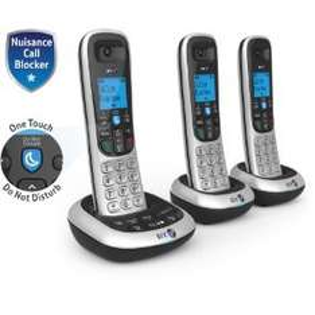 BT 2700 Trio Cordless Home Phone - Free c+c £33.24 @ Tesco direct