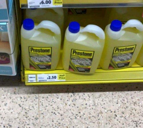 Prestone Screen Wash 4L £2.50 @ Littlehampton Tesco