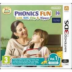 Phonics Fun with Biff, Chip and Kipper Vol.1 (Nintendo 3DS) £2 delivered @ Tesco Direct