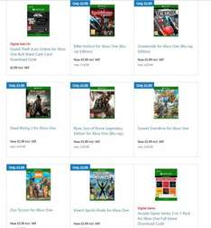 Dead Rising 3, Zoo Tycoon, Ryse Legendary £5.99 ea Microsoft Store