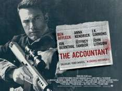Free Cinema Tickets  - The Accountant  -  Wednesday 26/10/16 18:30 Vue Cinemas   @ SFF