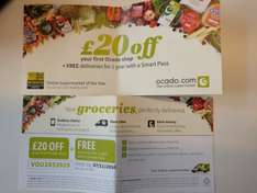 Ocado - New Customers -Spend £80 or more on online Shopping Get £20 off and Free 12 Months Delivery Pass