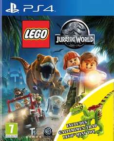 Lego Jurassic World Gallimimus Edition PS4 £17.99 (online & instore)  @ GAME