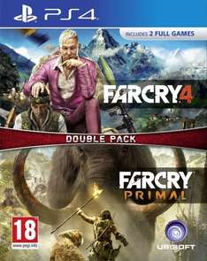 Far Cry Double Pack: Far Cry Primal + Far Cry 4 (PS4/Xbox One) £30.99 (Prime) £32.99 (Non-prime) Delivered @ Amazon