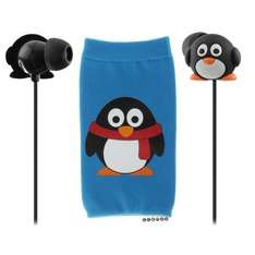 Double Penguin Pack Earphones and Sock £4.49 delivered @ Vodafone / Ebay